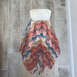 No Boundaries Strapless Dress / Size L